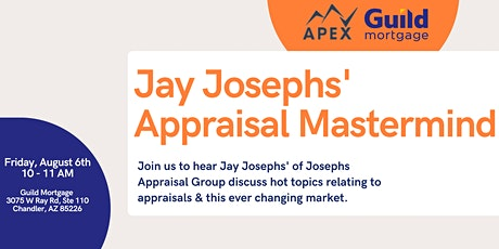 Appraisal Mastermind: The role of appraisals in this crazy market tickets