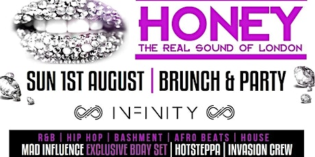Honey - Brunch and Party tickets