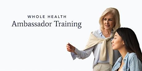 Ambassador Training tickets