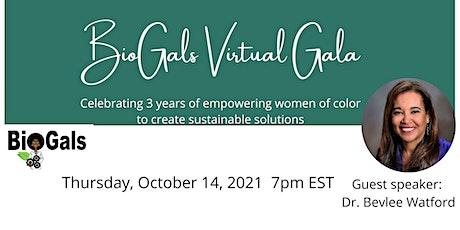 BioGals Virtual Gala entradas
