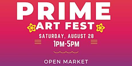Prime Art Fest tickets
