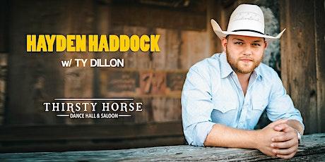 Hayden Haddock tickets