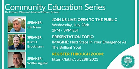Community Education Series: IMAGINE: Next Steps In Your Emergence tickets