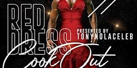 RED DRESS RUN COOKOUT tickets