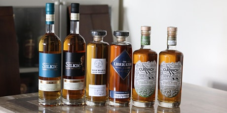 Silkie, Currach, Liberator Whiskeys Tasting tickets