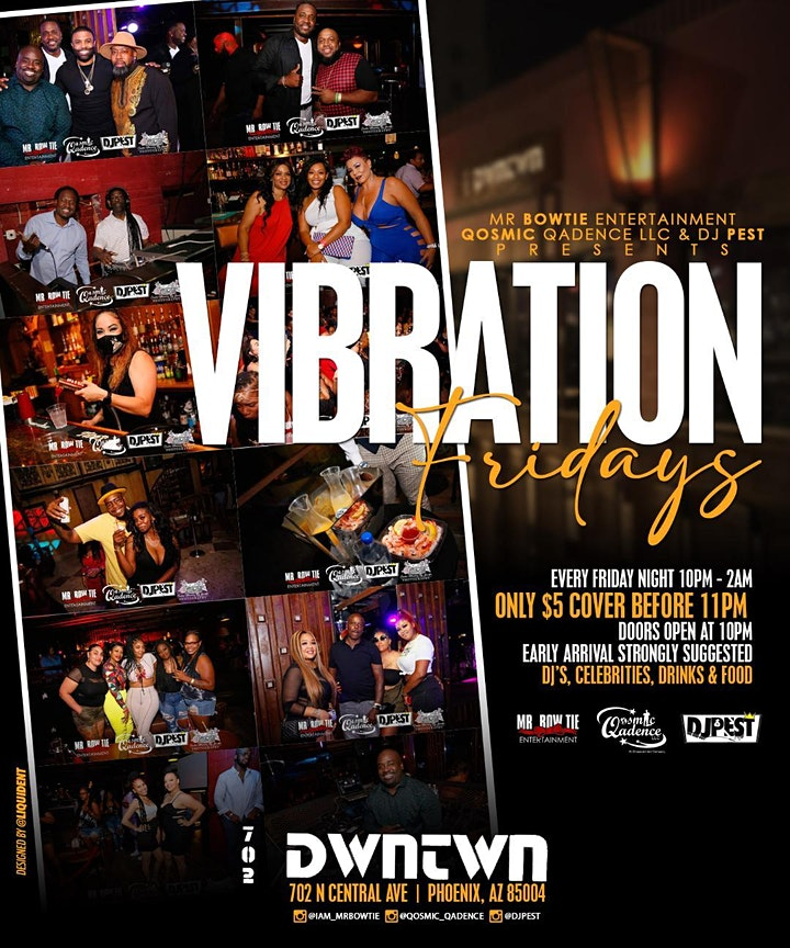 Vibrations Fridays image