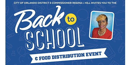 2021 District 5 Back to School Celebration & Food Distribution tickets