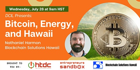 DCIL Presents - Bitcoin, Energy, and Hawaii tickets