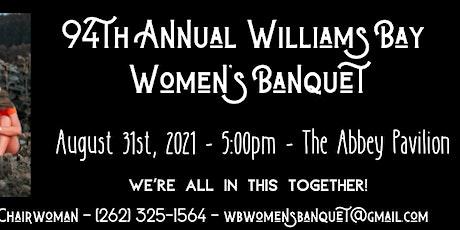 94th Annual Williams Bay Women's Banquet tickets