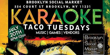 Karaoke & Taco Tuesdays at Brooklyn Social Market BSM Karaoke tickets