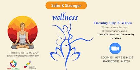 Women's Program: Wellness tickets