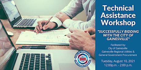 Technical Assistance Workshop tickets