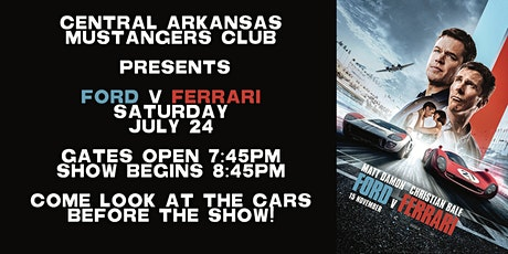 Ford v Ferrari tickets