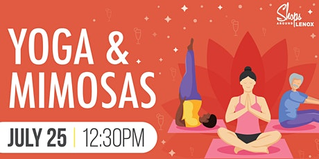 Yoga and Mimosas - July 2021 tickets