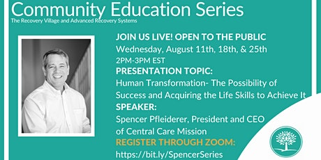 Community Education Series: Human Transformation- The Possibility of Succes tickets