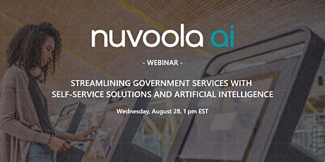 STREAMLINING GOVERNMENT SERVICES WITH SELF-SERVICE SOLUTIONS tickets