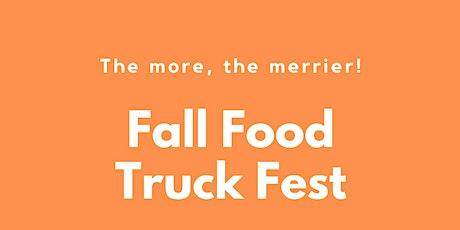 Fall Food Truck Fest tickets