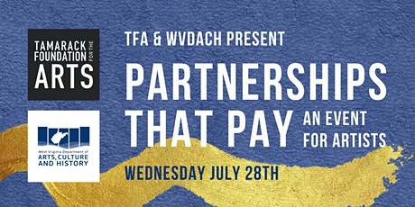Partnerships that Pay: An Event for Artists tickets