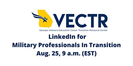 Linkedin For Military Professionals in Transition tickets