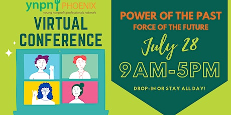 YNPN Phoenix Virtual Conference: Power of the Past - Force of the Future tickets