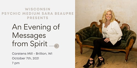 An Evening of Messages From Spirit with Psychic Medium Sara Beaupre tickets