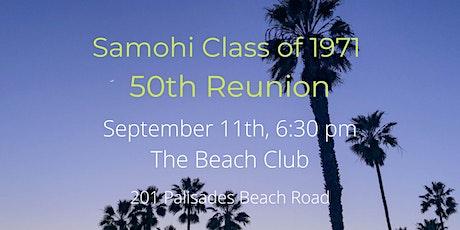 Samohi Class of 1971 50th Reunion tickets