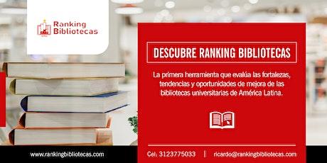Aplicación de la metodología Ranking Bibliotecas a las bibliotecas de LATAM entradas