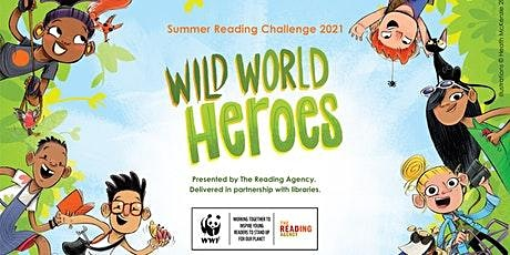 Wild World Heroes - Craft sessions at Cramlington Library tickets