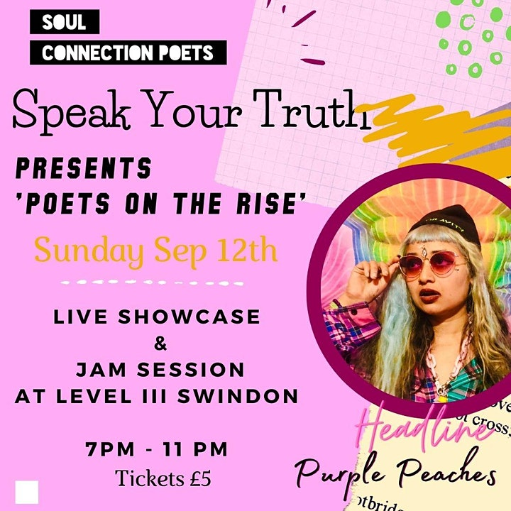 SPEAK YOUR TRUTH presents Poets On The Rise image
