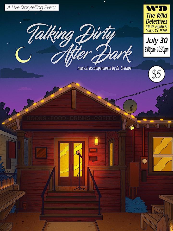 """Talking Dirty After Dark"": Live Storytelling Event image"