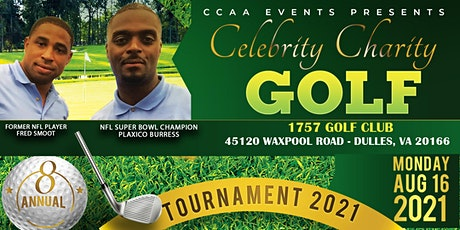 2021 Celebrity Charity Golf Tour. hosted by Fred Smoot & Plaxico Burress tickets