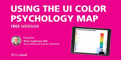 Educational Series on Color Psychology for Tech (Round 2) tickets