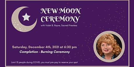 New Moon Ceremony - Completion tickets