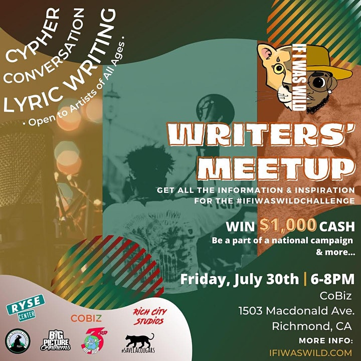 Bay Area Writers' Meetup image