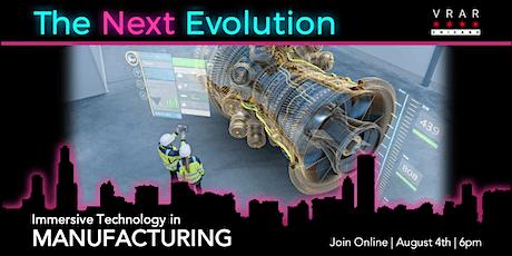 VRAR Chicago: The Next Evolution of Manufacturing tickets