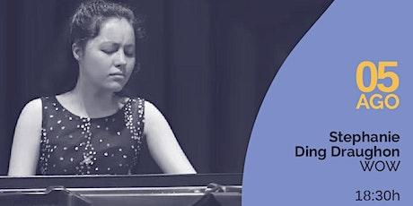 LIVESTREAM Ciclo Residências Artísticas, Concert #1—Stephanie Ding Draughon Tickets