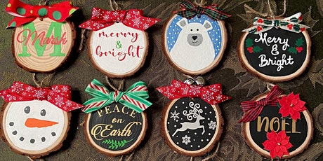 Wood Slice Ornament Workshop tickets