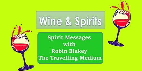 Spirit Messages with Robin Blakey ~ The Travelling Medium tickets