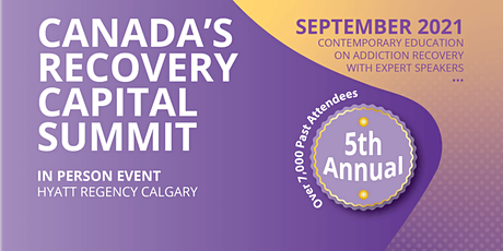 Canada's Recovery Capital Summit tickets