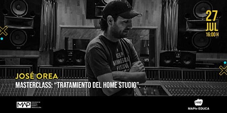 Tratamiento del Home Studio (masterclass) entradas