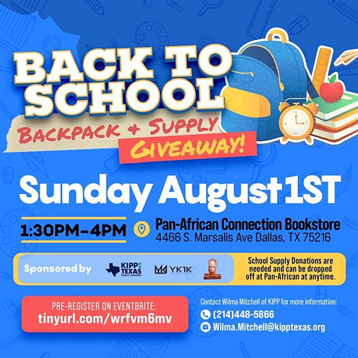 Back To School Backpack & Supply image