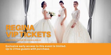 Regina Pop Up Wedding Dress Sale VIP Early Access tickets