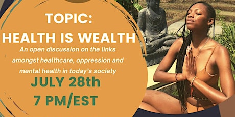 Soul Circle Session 3: Health is Wealth tickets