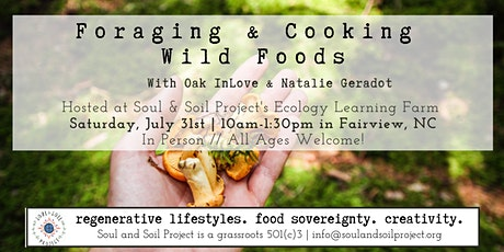 FORAGING & COOKING WILD FOODS tickets