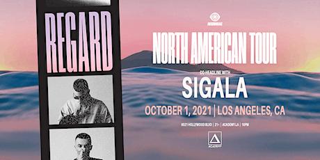 Regard & Sigala tickets