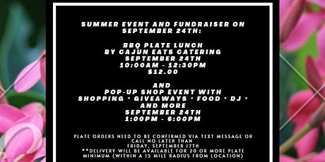 Summer Event Fundraiser and Popup tickets