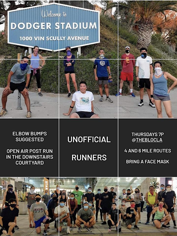 Unofficial Runners DTLA Run Club image