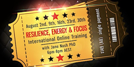 Resilience, energy and Focus Course tickets