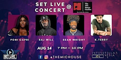 Set Live Concert @ The MIC House Studios tickets