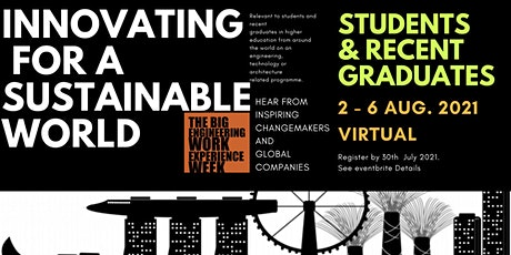 Innovating for A Sustainable World- Work Experience Week tickets